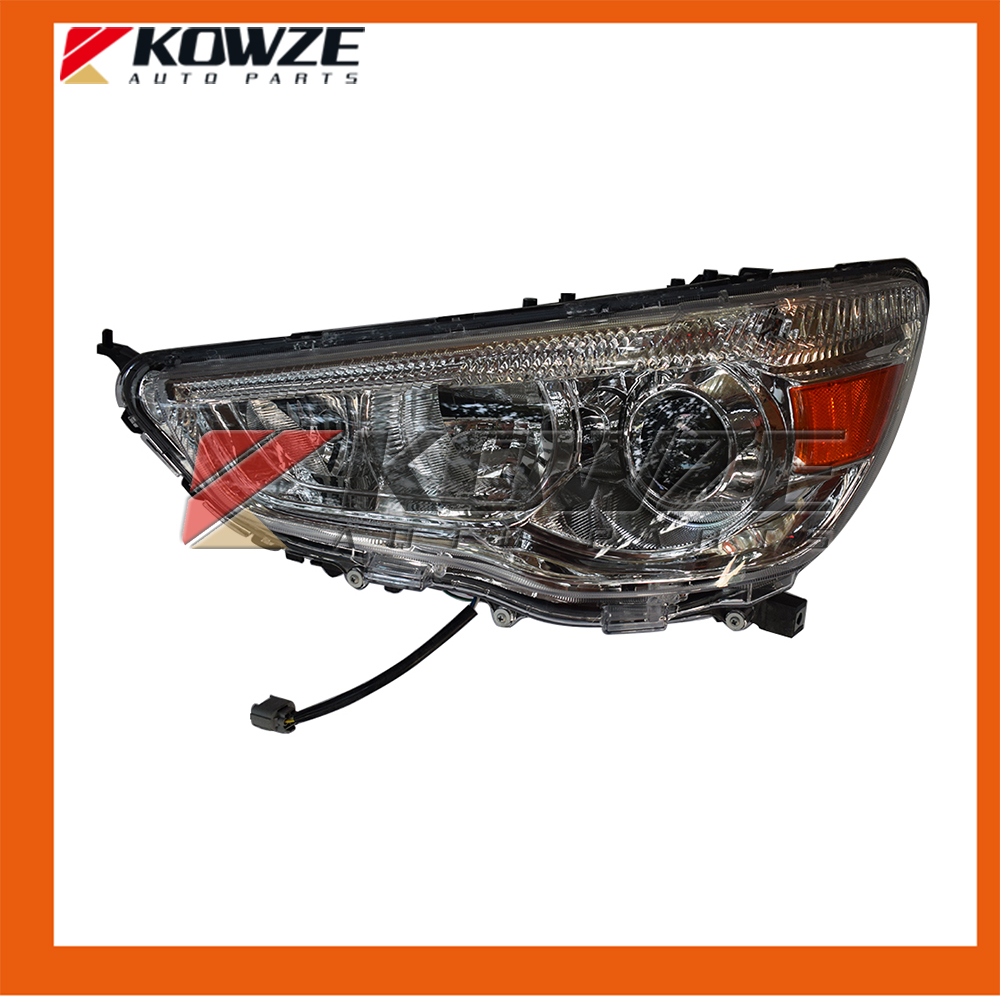 2PCS Left and Right Headlight HeadLamp Assy For Mitsubishi Outlander Sport /RVR/ASX 8301B587 8301B588 2pcs right