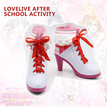 New LoveLive after school ACTIVITY Cosplay Boots LOVE LIVE Dream Gate Anime Shoes Custom Made стоимость