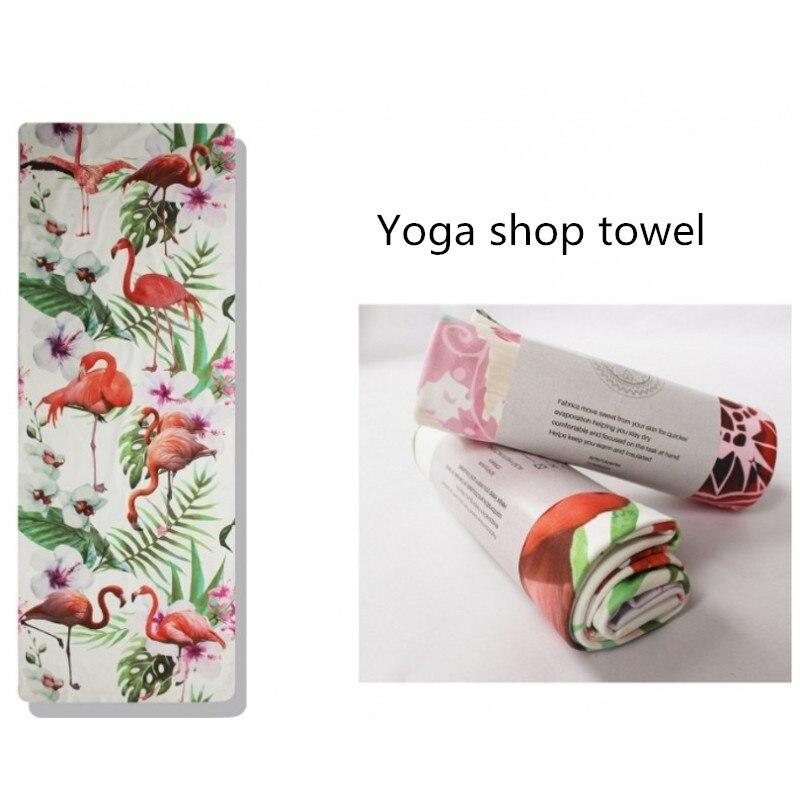 Nueva 3D patrón plegable toalla estera de Yoga Sport Fitness para ...