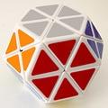 2016 venta Caliente A Estrenar Dayan Gem I Plástico Cubo Mágico más blanca Stickerless Velocidad Cubo Mágico Puzzle Cubos De Juguetes para Los Niños del cabrito