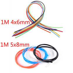 1m 5X8mm 4x6mmFuel Pipe Tubing Petrol Line Unleaded Oil Hose Synthetic Material Motorcycle Fuel Gas Line Hose Tube