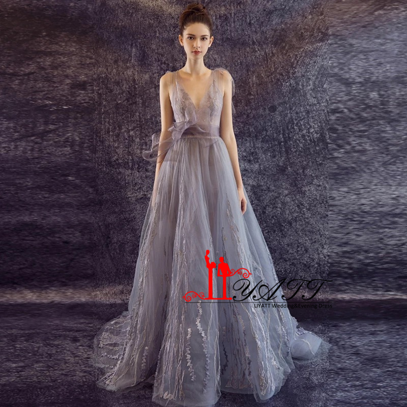 Increíble Traje Gris De Baile Festooning - Colección del Vestido de ...