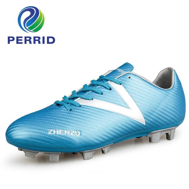 Tobillo botas de fútbol pie vibración hombres fútbol zapatos Soles sólidos  nunca roto uñas botas de d2a6791f5343e