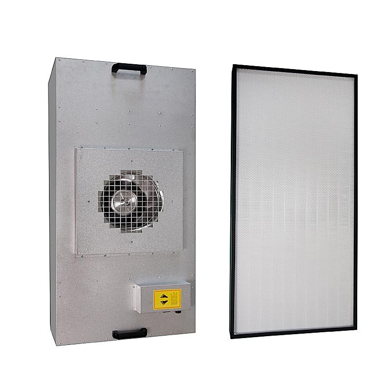Aletler'ten Elektrikli Alet Setleri'de Fan filtre ünitesi FFU verimli hava temizleyici filtre yüz laminer akış title=