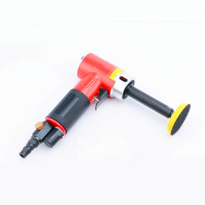 3 inch 90 degree small pneumatic polisher straight centricity grinding machine air sanding tool super longer straight model free shipping reciprocating type pneumatic sanding tool air polishing machine wind grinding tool sander machine 3mm move track