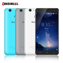 Blackview E7S  Cell phone MT6580 Quad Core Android 6.0 Mobile Phone 5.5inch IPS HD 2GB+16GB 8MP GPS 3G Smartphone Fingerprint ID