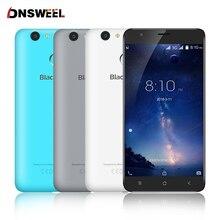 Blackview E7S smartphone MT6580 Quad Core Android 6.0 Téléphone Mobile 5.5 pouces IPS HD 2 GB + 16 GB 8MP GPS 3G téléphone portable D'empreintes Digitales ID