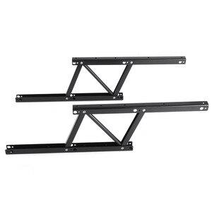 Image 4 - 1 זוג להרים את מנגנון שולחן קפה שולחן ריהוט חומרת Fiftting שימוש עבור שולחן ארון שולחן 38*16.5cm אביב צירים