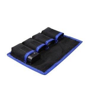 Image 4 - Meking リチウム電池収納ポケットポーチ防水ナイロンキヤノン LP E6 LP E8 ソニー NP FW50 EN EL14 EN EL15 4