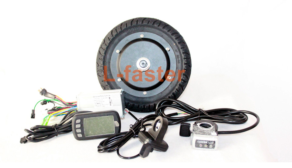 8 inch e-scooter 65mm hub motor kit -1-a