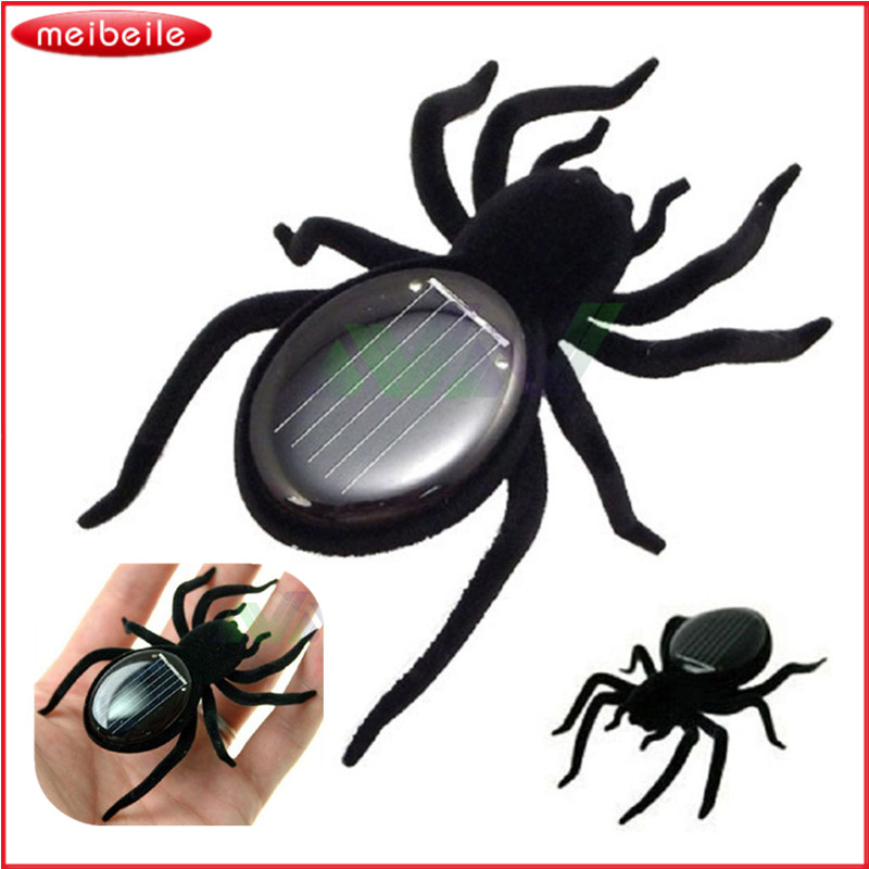 Solar Spider Tarantula Educational Robot Scary Insect Gadget Trick Toy