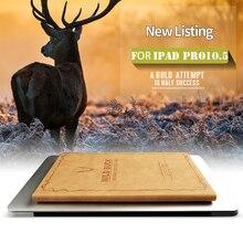ZOYU Lujo Ultra Delgado Elegante Magnético para iPad pro 10.5 caso Del Tirón Del Soporte de LA PU Cubierta de Cuero Para el ipad pro 10.5 pulgadas