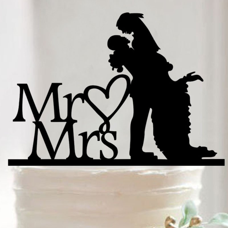 Buy Personalized Mr And Mrs Cake Toppers
