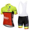 Farinha de Trigo 2019 12D ITALIA equipe de CICLISMO JERSEY bicicleta shorts set Ropa ciclismo HOMENS verão quick dry pro calças CICLISMO Maillot desgaste