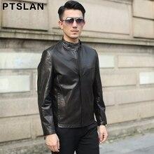 2017 New Arrival Leather Jackets Men's jacket male Outwear Men's Coats Spring & Autumn real Jacket De Couro Coat