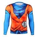 2017 NEWEST Men T-shirt 3D Tops Anime Dragon Ball T Shirt Long Sleeve Punisher Goku Poleras Hombre Tee Vegeta Novelty Clothing