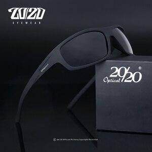 20/20 البصرية العلامة التجارية تصميم جديد الاستقطاب النظارات الشمسية الرجال الأزياء الذكور نظارات نظارات شمسية السفر الصيد Oculos Gafas دي سول PL66