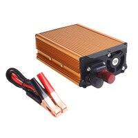 600W Pure Sine Wave Car Power Inverter DC 12V To AC 220V USB Converter Voltage Transformer Dual Fan Intelligent Temperature