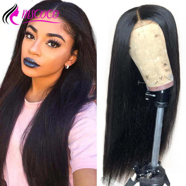 Brazilian Straight Wig 360 Lace Frontal Wig Pre Plucked With Baby Hair Preplucked Bleached Knots Glueless Lace Wig Remy Hair In Many Styles Human Hair Lace Wigs Hair Extensions & Wigs