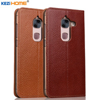 Case For Letv LeEco Le MAX 2 KEZiHOME Genuine Leather Flip Stand Leather Cover For Letv