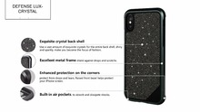 X-Doria Defense LUX CRYSTAL Case for iPhone X/Xs