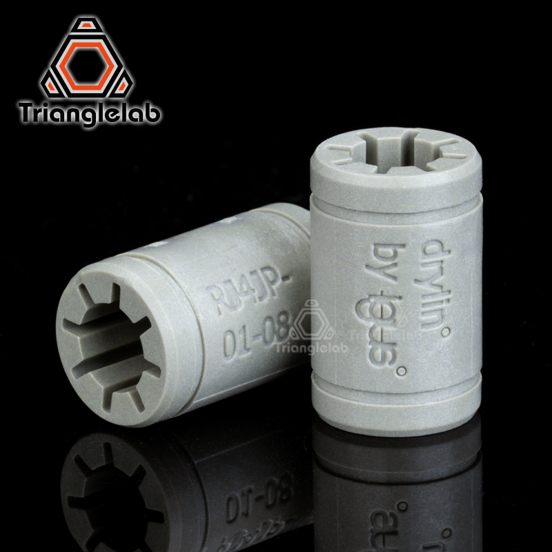 trianglelab Genuine  igus  RJ4JP01 Non-counterfeit LM8UU 3d printer linear bearing  For Reprap Anet A8  Prusa I3 3d Printer car