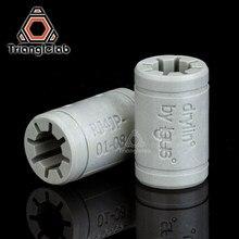 Trianglelab oryginalne igus RJ4JP01Non-counterfeit LM8UU 3d drukarki łożysko liniowe dla Reprap Anet A8 Prusa I3 drukarki 3d