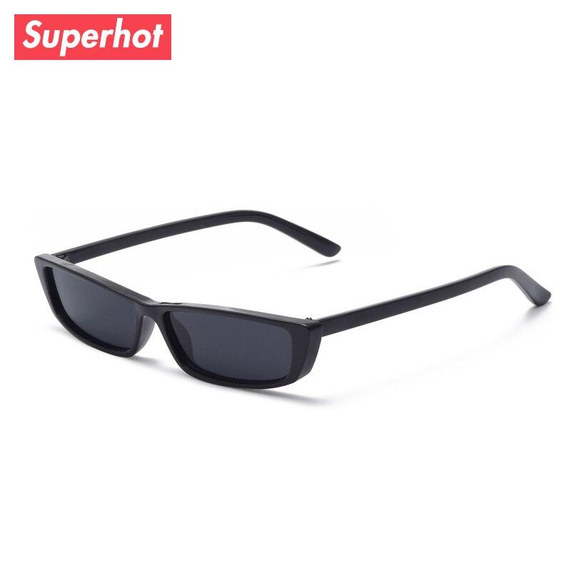e9dbc951caa0 Superhot Eyewear 2018 Retro Vintage Shades Smalle Rectangle Sunglasses  White Men Women Brand Sun glasses 10031-in Sunglasses from Apparel  Accessories on ...