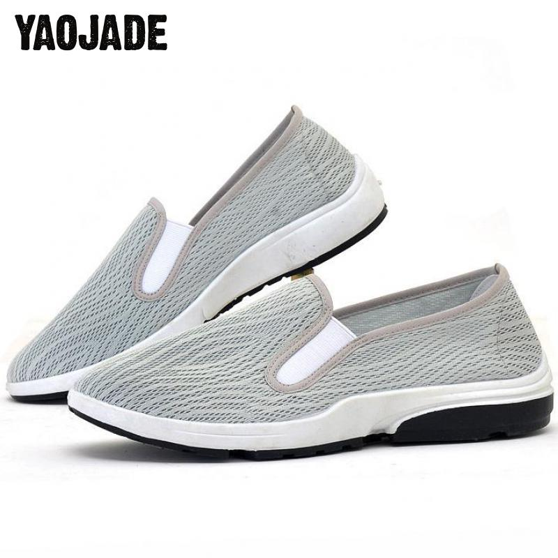 2018 Summer New Fashion Men Motion Casual Shoes Men Flats Soft And Comfortable Shoes Bre ...