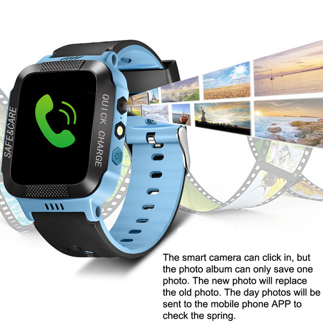 Q528 Smart Watch with GPS GSM Locator Touch Screen Tracker SOS Flashlight for Kids Children family phone Tracking 1