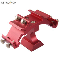 HERCULES Triple Finderscope Mounting Bracket (Vixen/SkyWatcher finder size) Red S8051
