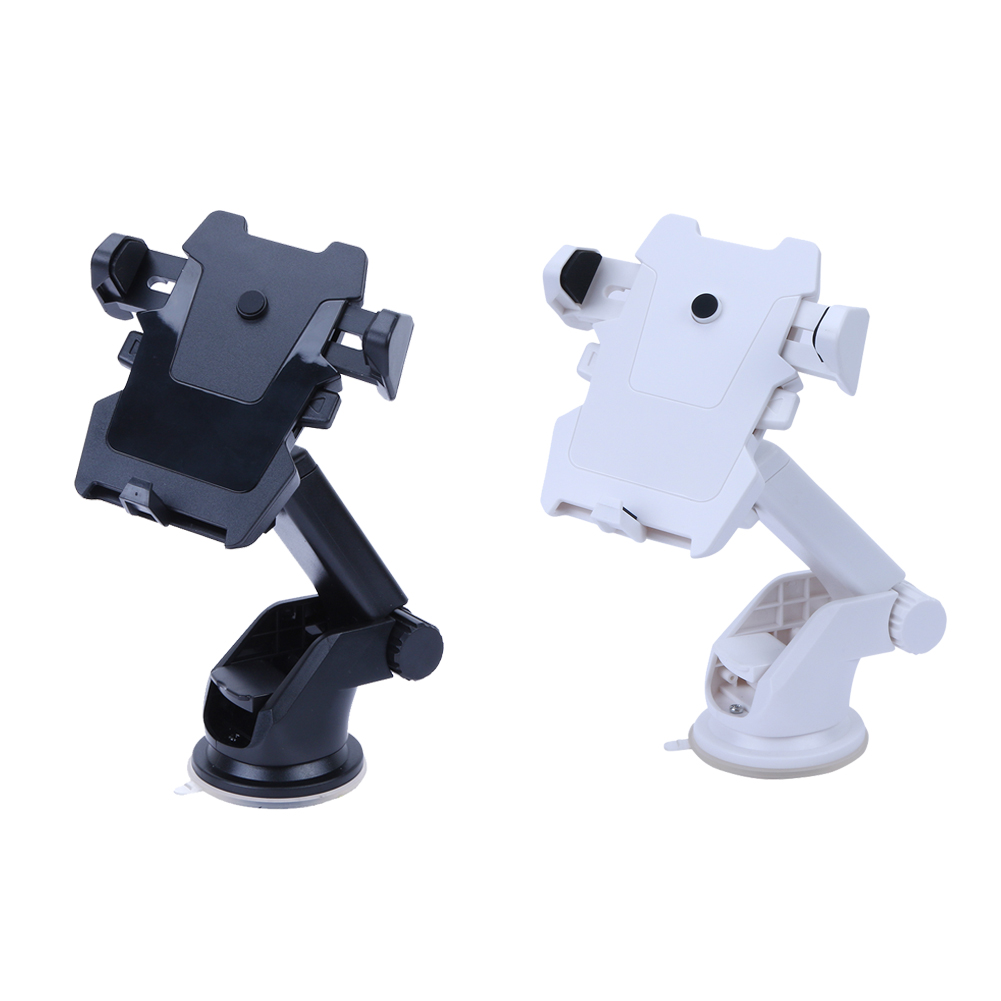360 Rotation Holder for Phone in Car Auto Long Lever Windshield Suction Cup Stand Support Mount Bracket for Mobile GPS Navigator universal car support holder for suction cup mount black
