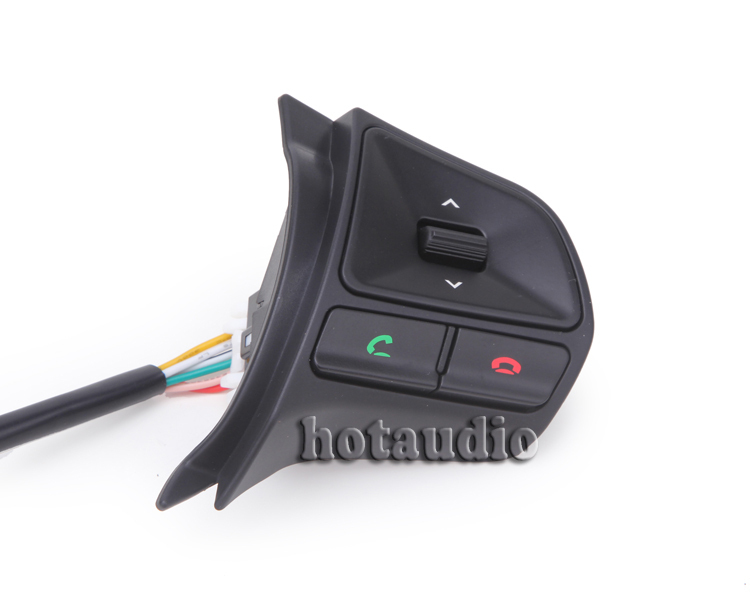Kia K2 Rio Original Steering Wheel Audio Channel Control Buttons Bluetooth  -  HongKong Summit Trades & Technology Co., Ltd store