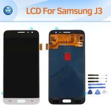 Pantalla lcd para samsung galaxy j3 2016 j320 pantalla lcd táctil digitalizador asamblea para j320f j320p j320m j320y j320fn reemplazo