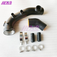Intake Turbo Charge Pipe Cooling Kit For N54 E82 E87 E88 E90 E92 E93 135i 335i 335xi 335is 335i xdrive air charge pipe