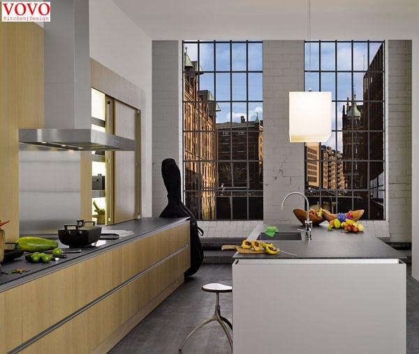 Melamina muebles de cocina modulares en Gabinetes de cocina de ...