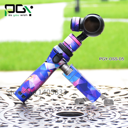 PGY-OSS-D5 PVC Skin Decal Sticker DJI OSMO Handheld 3-Axis Gimbal X3 4K HD Camera accessories For DJI OSMO