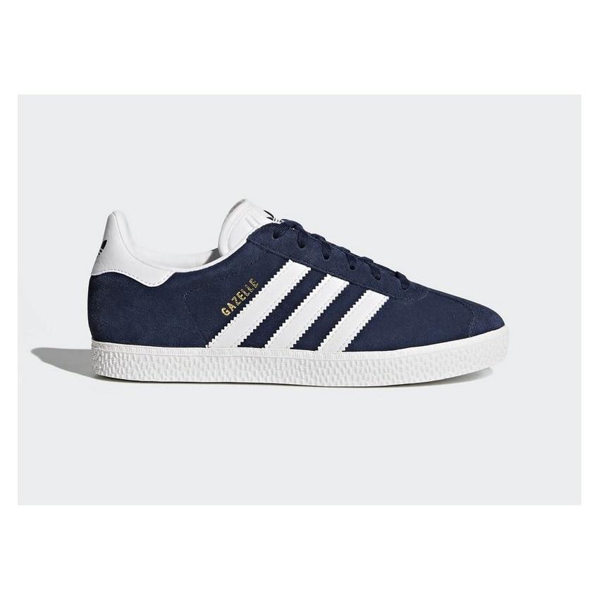 Zapatillas Adidas Blanco y BY9144 Sneakers Gazelle Azul Jr tsCxBQrdho