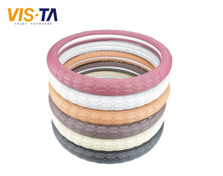 Micro Fiber Design Steering Wheel Cover/Leather Steering Wheel Cover