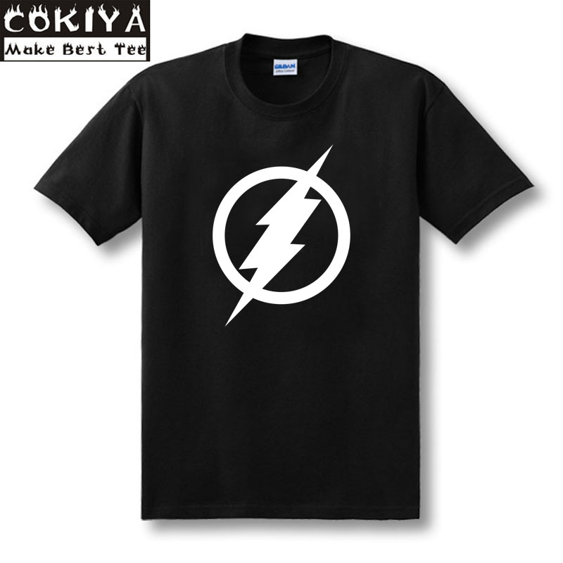 SexeMara the FLASH Equation Red T-Shirt 100% Cotton t shirt As worn by Sheldon Cooper t-shirt TBBT Big Bang Theory shirt