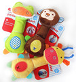 Newborn Toys Baby Rattle Soft Animal Model Plush Toy Rattle BB Stick Stuffed Handbells Cute Gift Infant Baby Toys 0-12 Months
