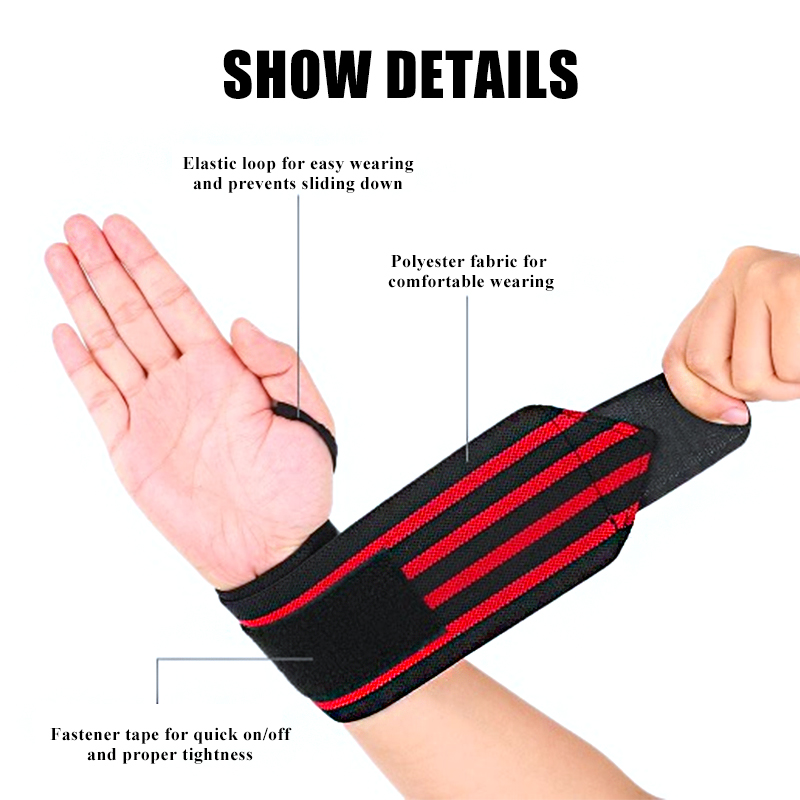 Weight Lifting Sports & Entertainment 1pc Sports Gym Power Training Bracers Wrister Weightlifting Wrist Protector Pressure Cuff Wrist-band Wrap Wind Belt Men Women Wide Selection;