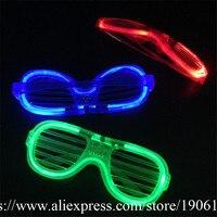4 Color Can Choose Led Luminous Party Glasses Grand Event Stage Light Up Dance Wear 10Pcs