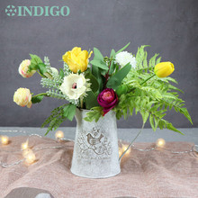 INDIGO Exclusive Sales Nature Flower Set With Bottle Arrangement Gift Bouquet Artificial Party Event Free Shipping