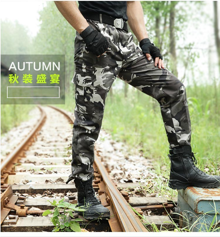 3224abb9fd8e0 Military Men Jogger Pants Tatico Cargo Pants Camouflage Tactical ...