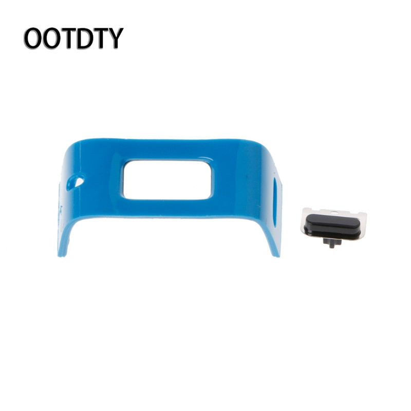 OOTDTY Smart Watch Plastic Back Charging Clasp With Button Repair Parts Replace For Charge HR