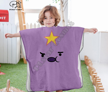 Cartoon adventure time funny Hooded baby Boys and Girls Towel Wearable Bath Towel For Kids Travel 3D print Beach Towels style-3 molly moon s hypnotic time travel adventure