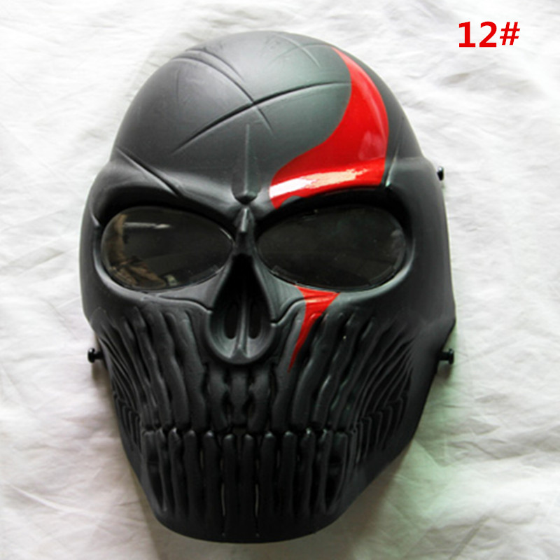 Tattica Paintball full face mask con lente antiappannamento per - Tiro