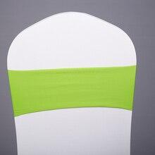 100 шт простой стул пояса ленты для свадебных стульев лук для свадебной вечеринки банкета украшения для стульев события вечерние принадлежности