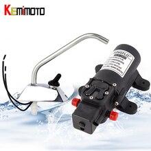 KEMiMOTO Water Faucet tap 12V Boat Caravan Water Pump Self Priming 35PSI Electric Galley Faucet Tap Garden